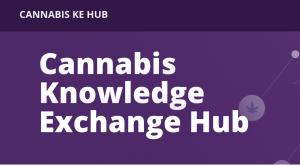 Cannabis Knowledge Exchange Hub website